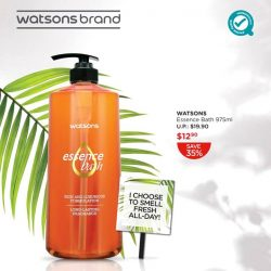 [Watsons Singapore] Life may stink, but you can smell fresh through it all with Watsons Essence Bath!