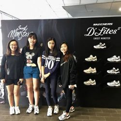 [Skechers Outlet] Last pit stop with sweetmonstersquad at NYP business school!