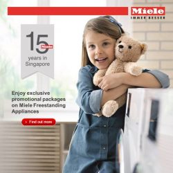 [Harvey Norman] Celebrate Miele's 15th Anniversary at HarveyNormanSG with exclusive promotions and complimentary gifts!