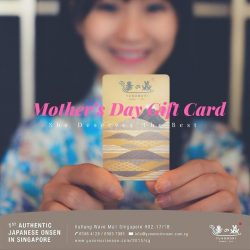 [Yunomori Onsen and Spa] Our gift cards are in the denominations of $50 and above.