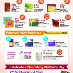 [Compass One] Celebrate a Nourishing Mother's Day with Eu Yan Sang.