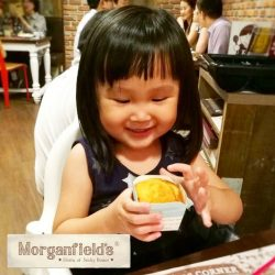 [Morganfield's] Bring the little ones out for a meal at Morganfield's!