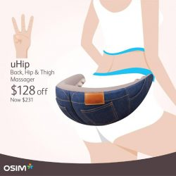 [OSIM] Our WEEKDAY-ONLY deals leads the way to a beautiful body!