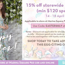 [Maternity Exchange] Enjoy 15% off storewide purchases (with min $120 spend) from 14-18 April.