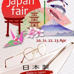 [Optique Paris-Miki] Look out for Paris Miki 'Japan Fair' at BUGIS JUNCTION & VIVO CITY from 20 till 23 Apr 2017!