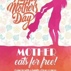 [Paddington House of Pancakes] In conjunction with Mother's Day celebration, we have a special treat for your mother!