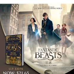 [MPH] Parkway Parade Crazy Rewards OfferEnjoy 30% off Fantastic Beasts and Where to Find Them original screenplayPromotion valid from