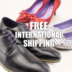[Rad Russel] Enjoy free shipping for all Singapore orders & Free International Shipping for orders above USD 120For a limited period only