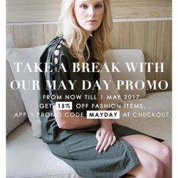 [LaPrendo] Take a break with our May Day promo 💋