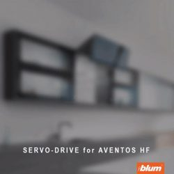 [Blum & Co] Blum Solutions for your wall cabinet: AVENTOS HFThe two-part front that folds upwards is ideal for very high