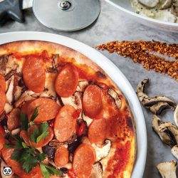 [foodpanda] fe5tival: Spizza is well-loved for its authentic, thin-crusted wood-fired pizzas.