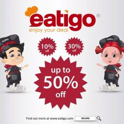 [Gelare Café] We are on eatigo!