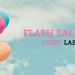 [The Party Stuff!] Labour Day Flash Sale!