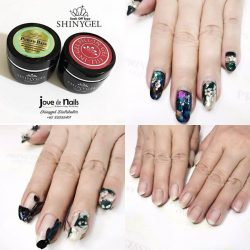 [Princess's Cottage: The Nails Story] Shinygel Power Base Coat is used for all our gel services.