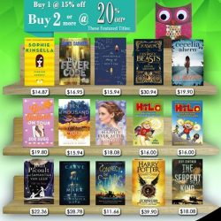 [MPH] MPH Children Bestsellers PromotionBuy 1 at 20% off 2 or more at 25% off Promotion valid from 1 - 30