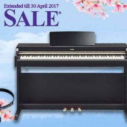 [YAMAHA MUSIC SQUARE] Yamaha Spring Sale eShop Highlight:Last 2 units left for Yamaha YDP-162PE Arius Digital Piano @ $1'609 (UP: $2'