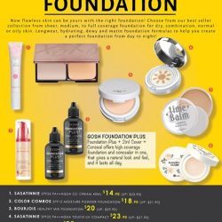 [Sasa Singapore] Look no further for Beauty Secrets to beautiful skin for we have exposed the greatest secret here.