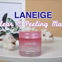 [Laneige] Achieve clearer, brighter skin with the LANEIGE Clear-C Peeling Mask!