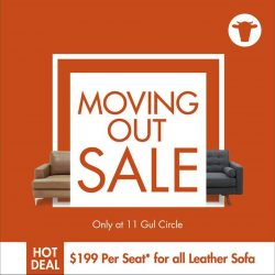 [Sofa Outlet] Warehouse moving out sale!