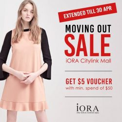 [IORA] Sale extended till 30 Apr!