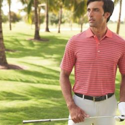 [Golf House Singapore] Greg Norman Collection was the first golf apparel brand to introduce moisture wicking technology in fabrics.