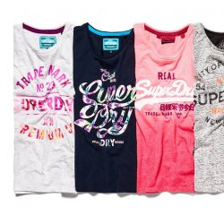 [Superdry] Head down to your nearest superdrysg boutiques now to get 50% OFF all tees with purchase of any regular priced