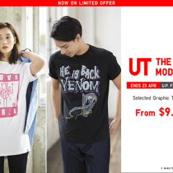 [Uniqlo Singapore] Grab your favourite UTs from $9.