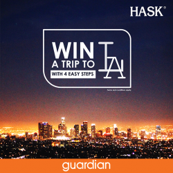 [Guardian] Enjoy the 3 for 2 promotion on HASK Singapore products, available exclusively at Guardian stores and stand a chance to