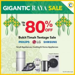 [Courts] Unleash your inner shopaholic with GIGANTIC discounts of up to 80% off at COURTS Bukit Timah Tentage Sale and roadshows