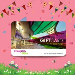 [Changi City Point] Get rewarded for shopping!