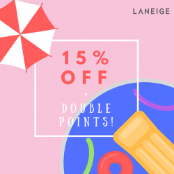 [Laneige] Celebrate Labour Day with LANEIGE!