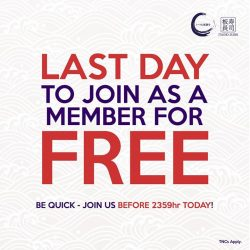 [Itacho Sushi] FREE MEMBERSHIP PROMOTION - *LAST DAY* TO THE END OF PROMO Final chance to join us for FREE and enjoy the