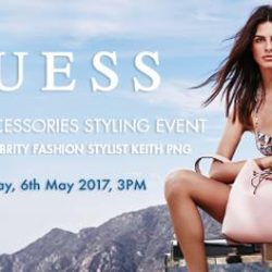 [GUESS Singapore] Share a stylish afternoon with Keith Png and us!