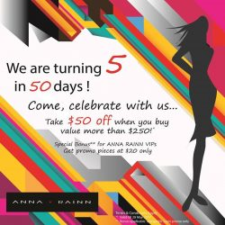 [Anna Rainn] Thanks to all you Gorgeous Ladies and our Wonderful Team, we are turning 5 in May this year !