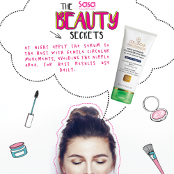 [Sasa Singapore] SasaBeautySecrets REVEALED: Give the ladies firm & toned bust!