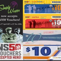 [Simply Wrapps] Simply Wrapps accepts NS50 Vouchers!