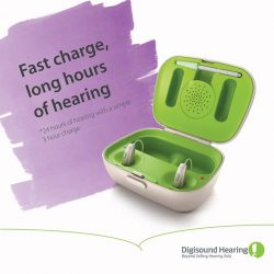 [Digi-Sound Hearing Care Centre] Phonak Audeo-R gives you 24 hours of hearing with a simple 3 hour charge.