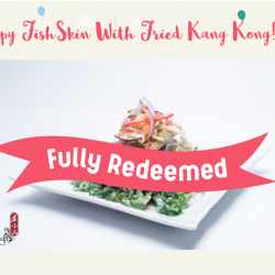 [Waterway Point] Our vouchers from Dian Xiao Er are fully redeemed!