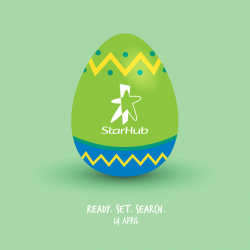 [StarHub] Ready for the StarHub Easter Egg hunt?