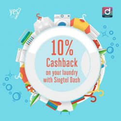 [Singtel] Worry less about laundry day with Laundry@YES!