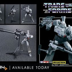 "[PLAYe] Megatron, the evil emperor of destruction that transforms from a gun, finally comes in the ultimate Transformers ""Masterpiece"" series!"