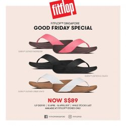 [FitFlop] GREAT news if you're in Singapore this long weekend!