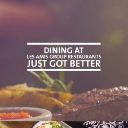 [OCBC ATM] Dining at Les Amis Group's restaurants just got better for OCBC Cardmembers.