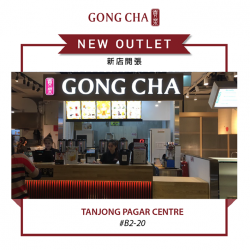 [Gong Cha Singapore] Gong Cha Tanjong Pagar Centre is NOW OPEN!