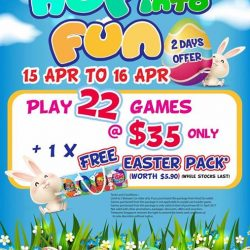 [Timezone] Receive a FREE Easter eggs pack worth $5.