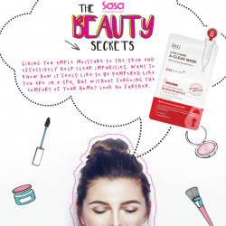 [Sasa Singapore] SasaBeautySecrets REVEALED: The MASK-haves.