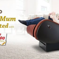 [OTO Bodycare] Mother's Day Gift - ELVI massage chair - At Only $1,888 + Free Foot Massager & Neck Massager + $100 Dining Vouchers - Make