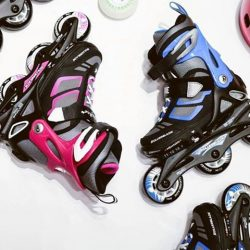 [INLINEX] Rollerblade spitfire 2017 series is perfect for kids.