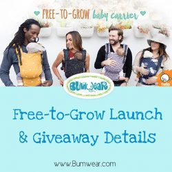 [Bumwear] Here are more details about the Free-to-grow launch and the Giveaways.