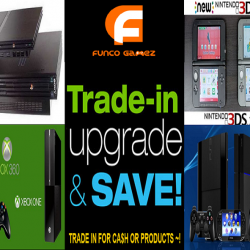 [Funco Gamez] We take in old consoles (working or damaged) & games 🎮 for CASH 💲💲💲 !